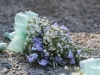 Hint Of Mint ~ Pin Style With Lavender Statice & Babys Breath
