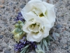 Pin Style ~  Lisianthus With  Lavender & Succulent