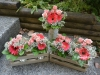 Coral Candescence Centerpieces