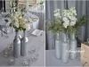 Silver & Ice ~ Centerpiece Groupings