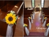 Sunshine In Metal Pots ~ Aisle Markers