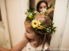 September Whimsy ~ Flower Crown With Daisy Mums & Babys Breath