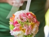 Sweet Pea Kissing Ball ~ Cheerful Faux Flowers