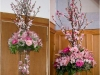 Cherry Blossom Inspiration ~ Large Vase Toppers