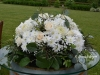 Roses & Mums ~ Barrel Topper