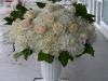 Hydrangeas & Roses In Pedestal Urn