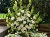 In Loving Memory ~ Large Potted Spray With Matching Centerpieces