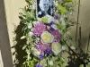 Spring Garden Tribute ~ Standing Spray On Easel