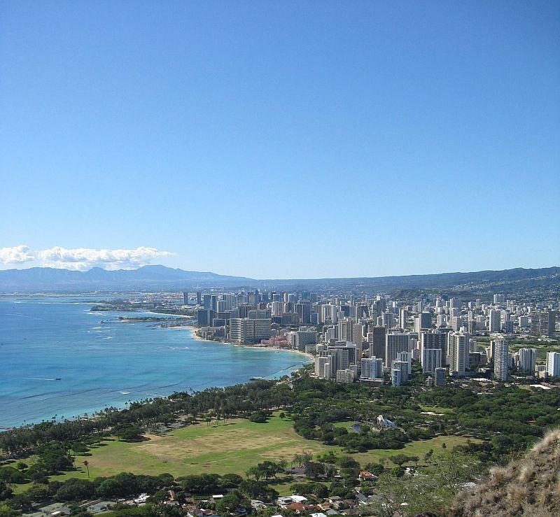 Honolulu city vista