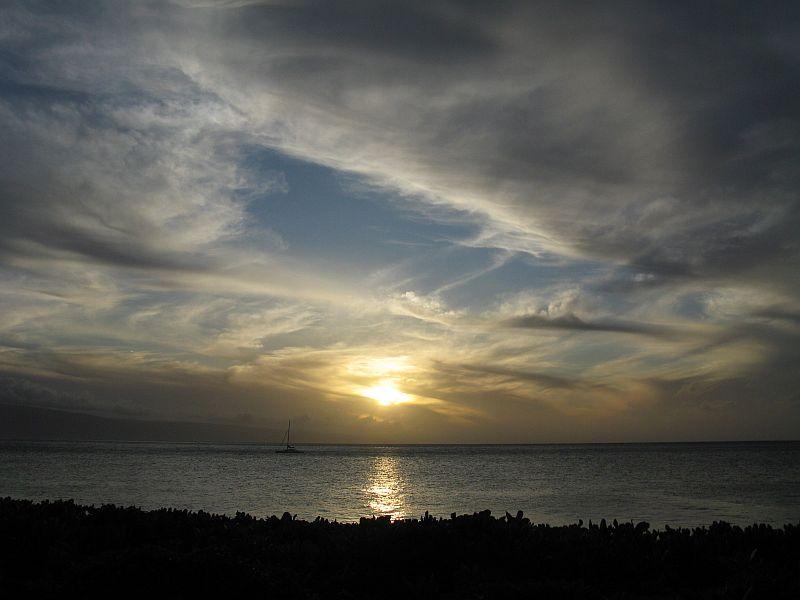 Sunset in Mauai-1